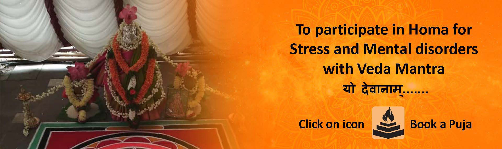 Homa for stress & mental disorders with Veda Mantra