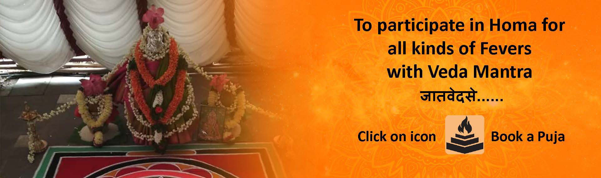 Homa for all kinds of fevers with veda mantra
