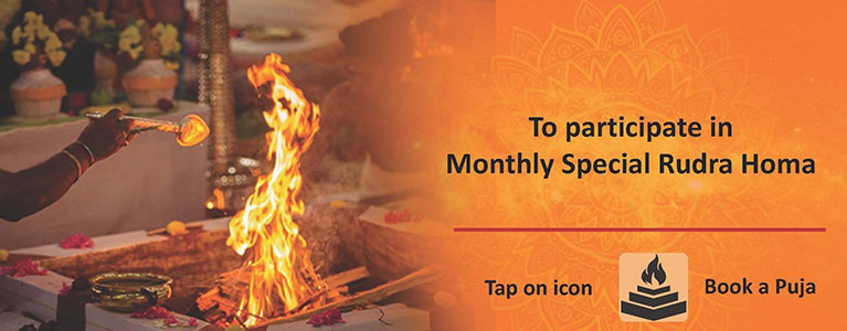 Monthly Special Rudra Homa